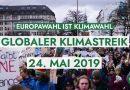 Globaler Klimastreik am 24.05.2019 zur Europawahl