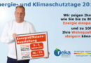 Energie- und Klimaschutztage 2019: reka ist mit dabei!