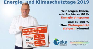 Energie- und Klimaschutztage 2019 in Salzgitter - Die reka ist mit dabei!