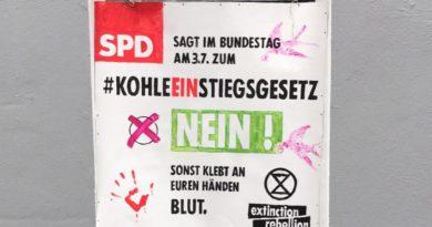 KohleEINstiegsgesetz: Schreib JETZT Deinem Bundestagsabgeordneten