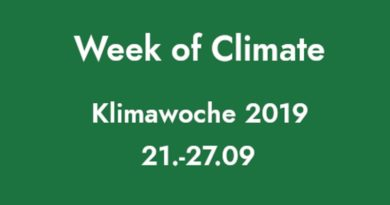 The week of climate