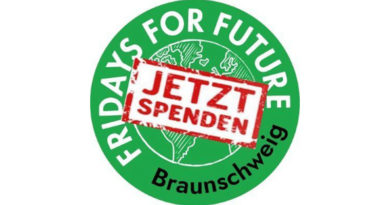 Unterstütze Fridays for Future Braunschweig jetzt mit deiner Spende!