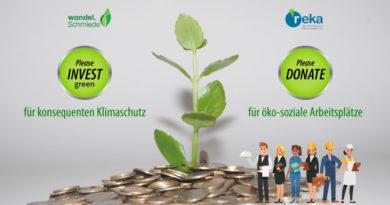 reka greenINVEST - Deine Spende für Arbeit und Klimaschutz
