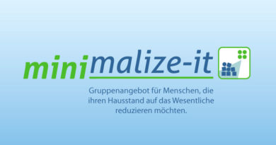 minimalize-it - Titelgrafik Projektseite