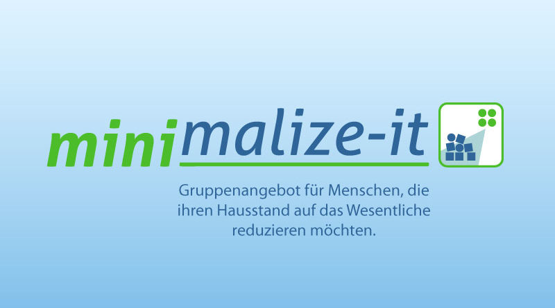 minimalize-it - Titelgrafik Projektseite